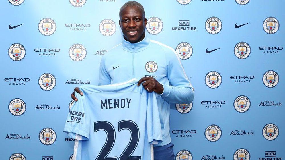Бенжамен Менди — новый защитник «Манчестер Сити»
