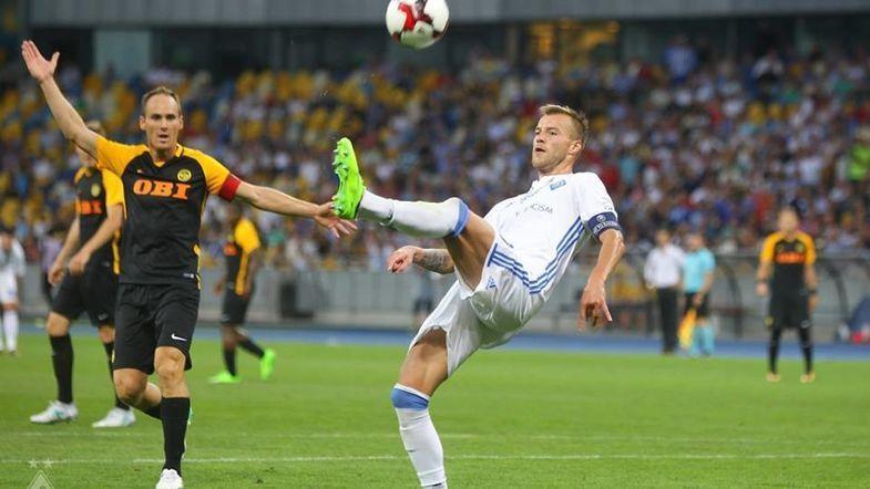 «Динамо Киев» оказалось сильнее «Янг Бойз»