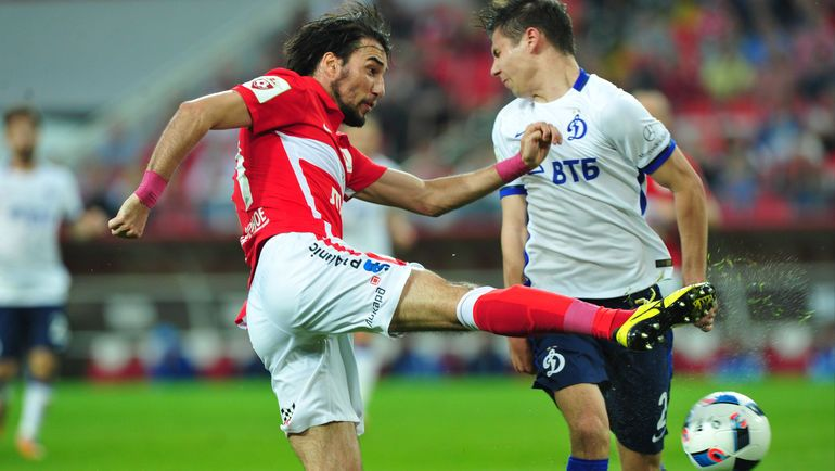«Динамо» вырывает ничью в московском дерби
