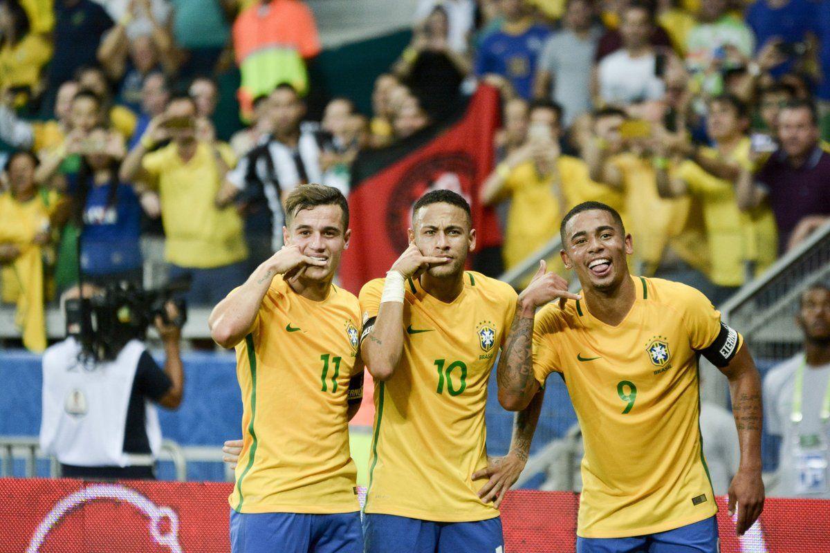 Прогноз на матч Бразилия — Чили — 11.10.2017
