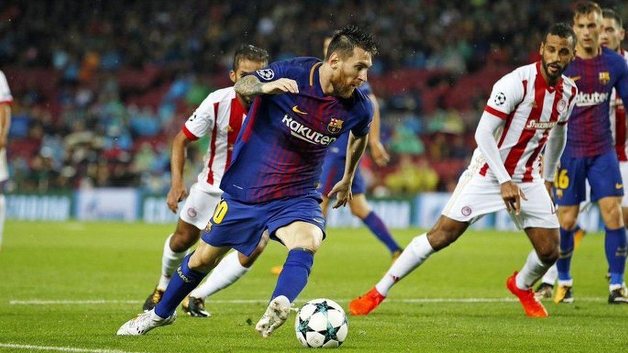 Прогноз на матч Олимпиакос — Барселона — 31.10.2017