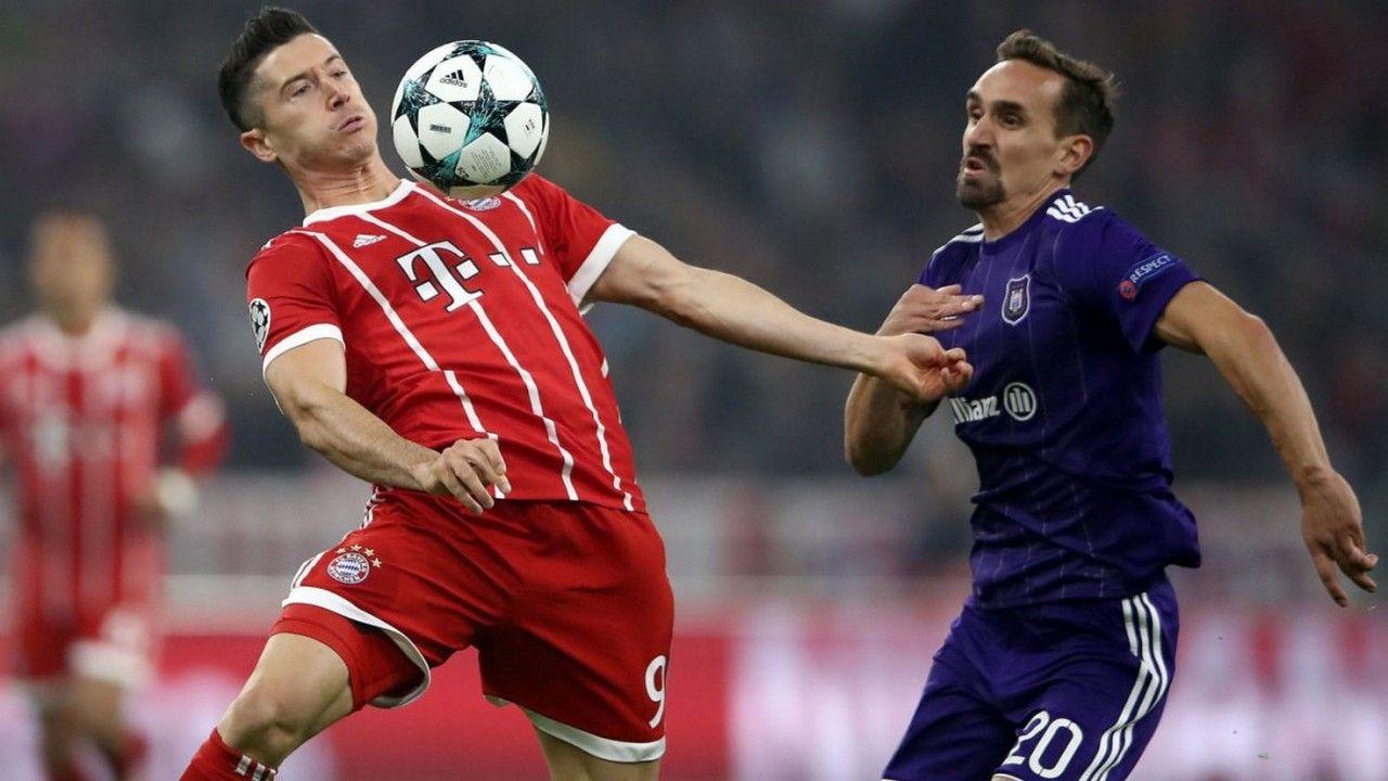 Прогноз на матч Андерлехт — Бавария — 22.11.2017