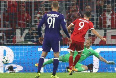 Прогноз на матч Андерлехт - Бавария - 22.11.2017