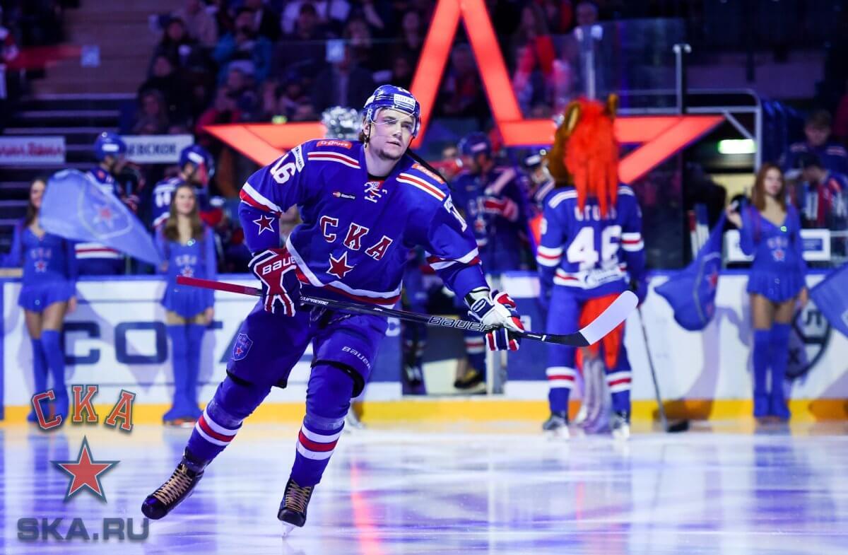 СКА стал досрочным чемпионов регулярного чемпионата КХЛ