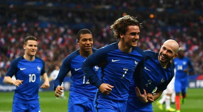Франция будет мстить после поражения от колумбийцев