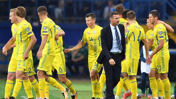 вторая попытка Украины взять победу в контрольном матче