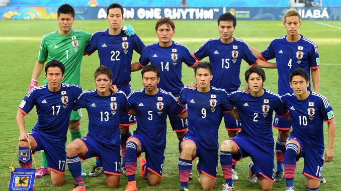 Япония сыграет со сборной Украины