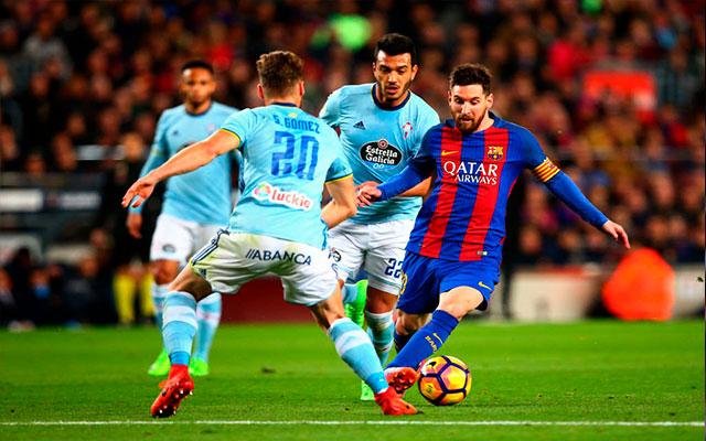 Сельта постарается дать бой Барселоне