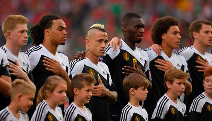 бельгийская команда по футболу