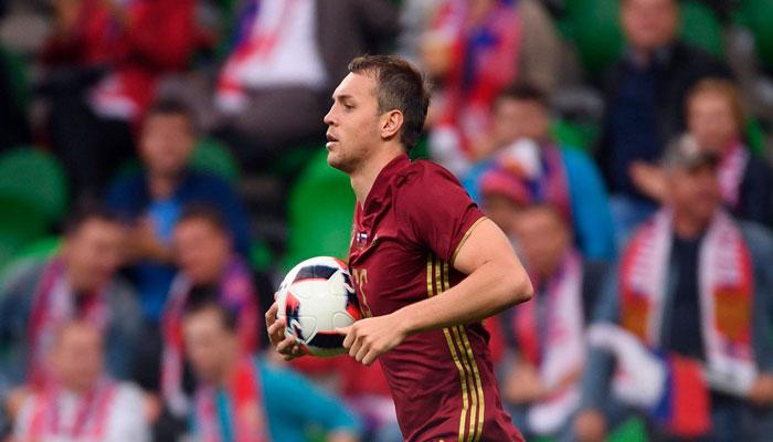 Дзюба забил в первой игре России на ЧМ-2018