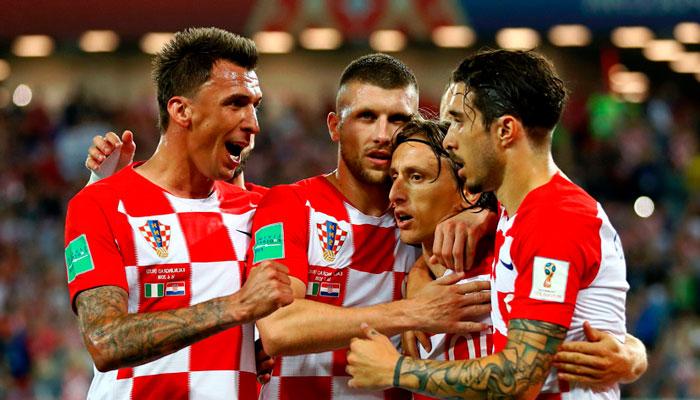 Хорваты лидеры группы D