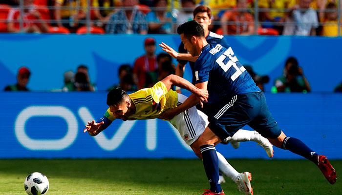 Япония обыграла Колумбию 2-1