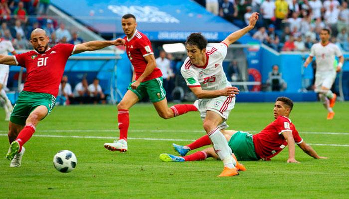 Марокко проиграли Ирану, дальше Португалия