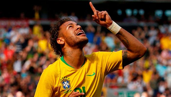 Бразилия под лидерством Неймара