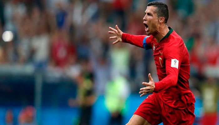 Роналду оформил хет-трик - на очереди Марокко.