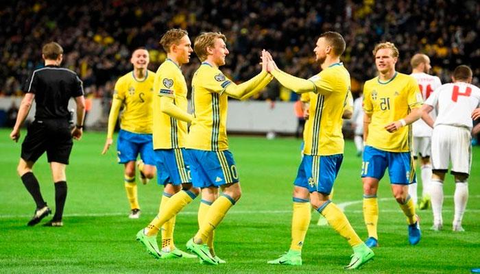 команда Швеции на ЧМ-2018