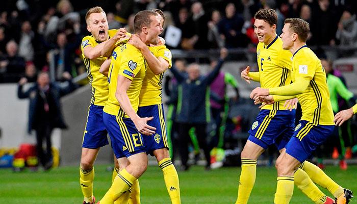 Швеция в борьбе за выход в плей-офф