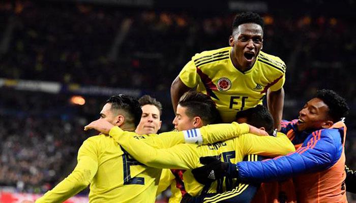 Колумбия сыграет с англичанами в 1/8 финала ЧМ 2018