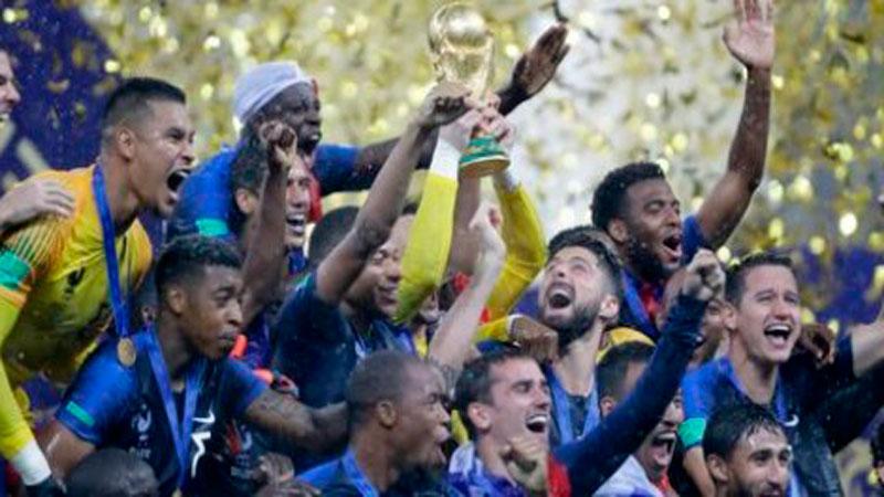 Франция вновь взяла золото Чемпионата Мира по футболу