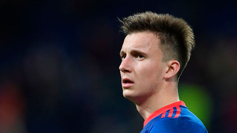 Монако оформили трансфер Головина из ЦСКА за 30 млн евро