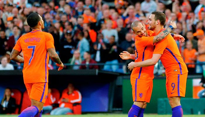 Нидерланды проиграют в Париже