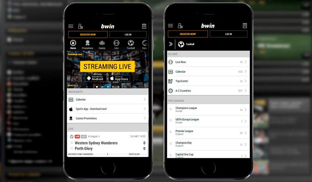 bwin Мобильное приложение