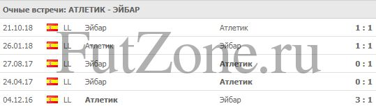 """Атлетик"" - ""Эйбар"" 23-02"