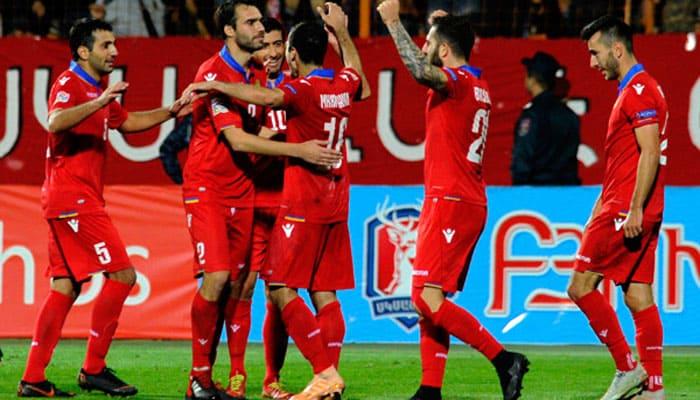 Армения проиграет и не забьет