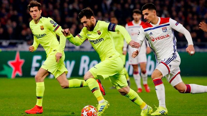 «Барселона» — «Лион»: прогноз на матч 13 марта 2019
