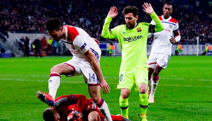 """Лион"" проиграет в Испании"