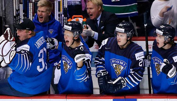 Финляндия проиграет канадцам