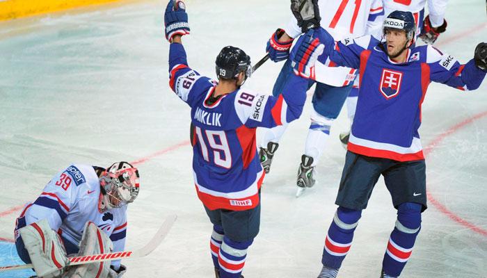 Словакия проиграет канадцам через ТБ