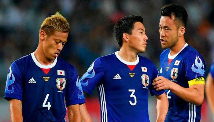 Япония проиграет стартовый матч