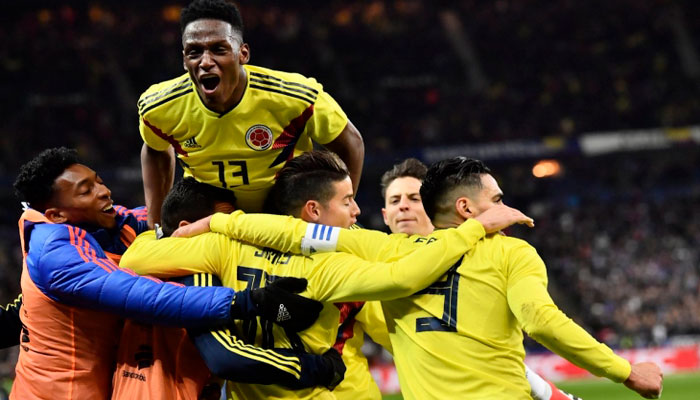 Колумбия на классе обыграет парагвайцев