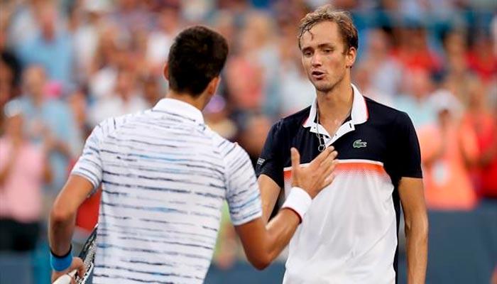 Медведев обыграет бельгийца в финале Цинциннати