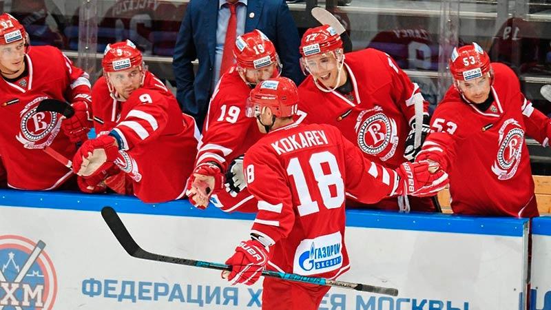 Витязь — Спартак: прогноз на матч 5 октября 2019