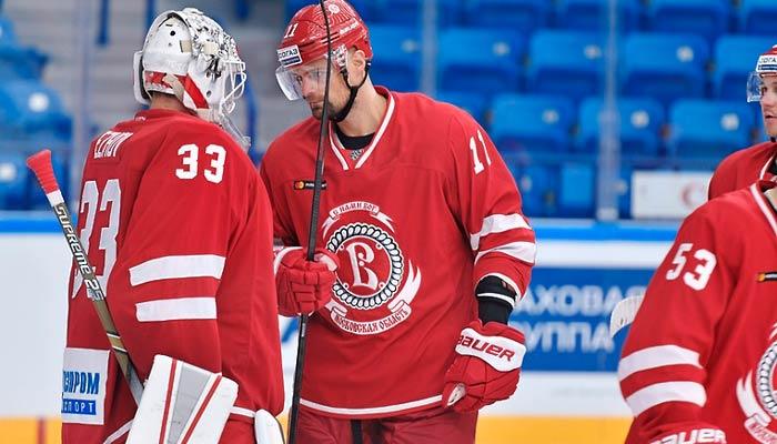 Витязь уступит в Минске