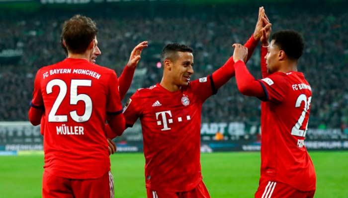 Бавария снова сыграет на больше