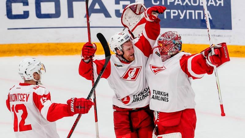 Спартак Москва - Витязь: прогноз на матч 3 января 2020