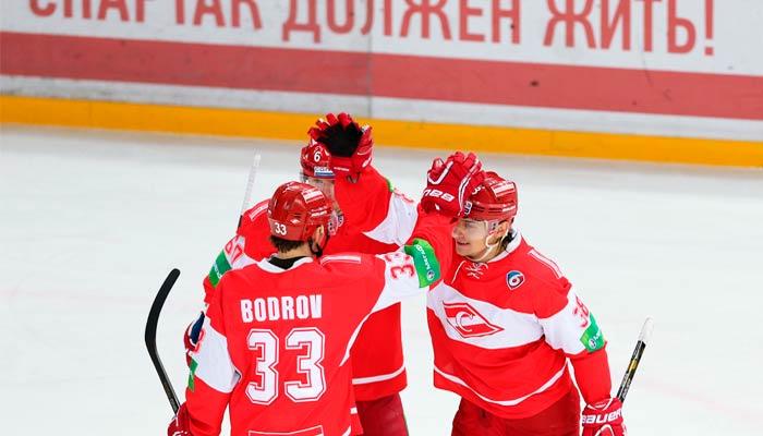 Спартак Москва 13.02.2020